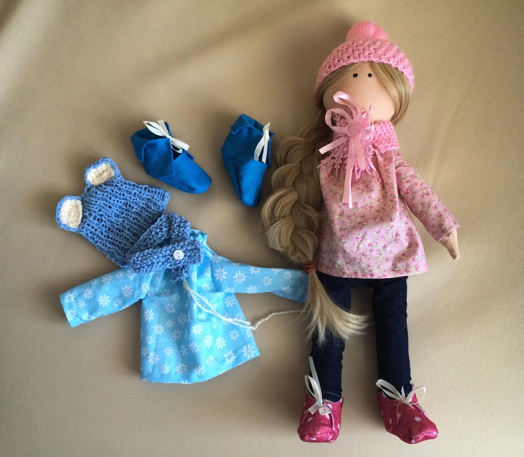 Куклу которую может сшить ребенок