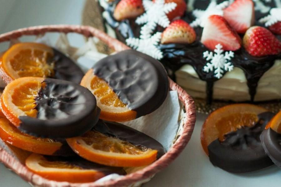 Апельсины в шоколаде от Светланы Сикорской