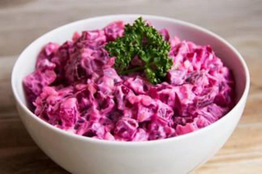 Свекольный салат от Ольги Кореньковой
