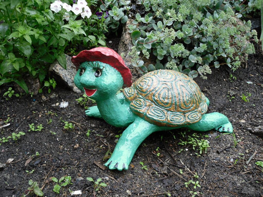 Садовая скульптура своими руками 42