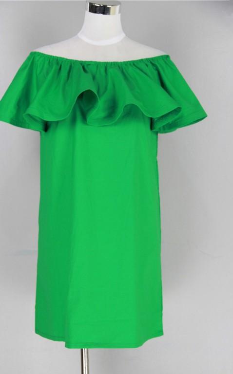 Летние платье с воланами как сшить